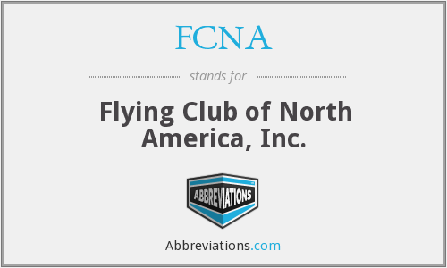 FCNA - Flying Club of North America, Inc.