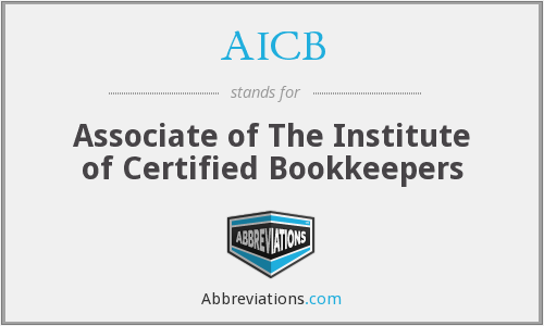 AICB - Associate of The Institute of Certified Bookkeepers