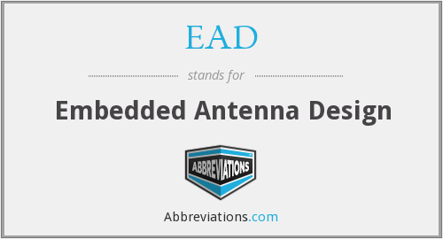 EAD - Embedded Antenna Design
