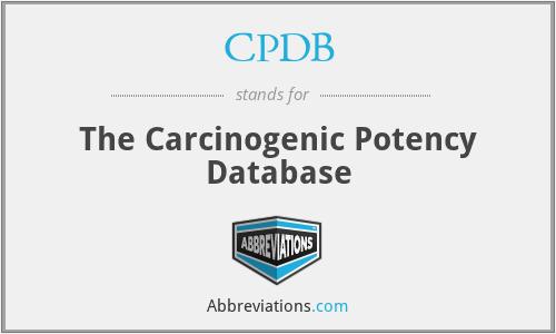 CPDB - The Carcinogenic Potency Database