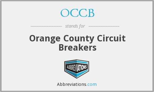 OCCB - Orange County Circuit Breakers