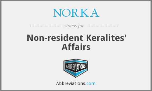 What does NORKA stand for?
