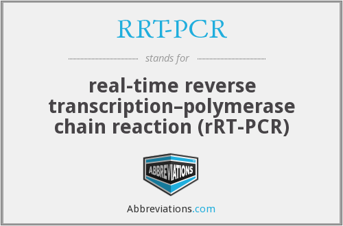What does RRT-PCR stand for?