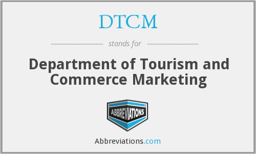 DTCM - Department of Tourism and Commerce Marketing