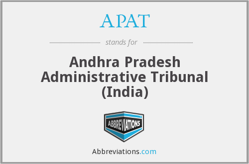 APAT - Andhra Pradesh Administrative Tribunal (India)