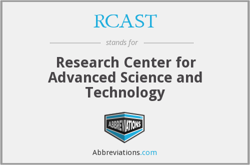 What does RCAST stand for?