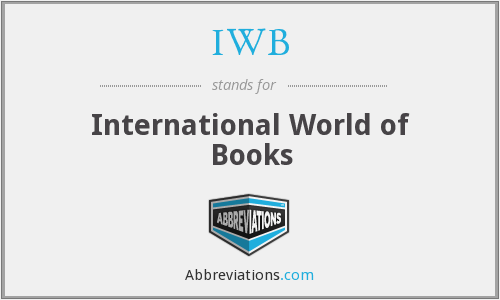 IWB - International World of Books