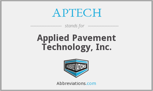 What does APTECH stand for?