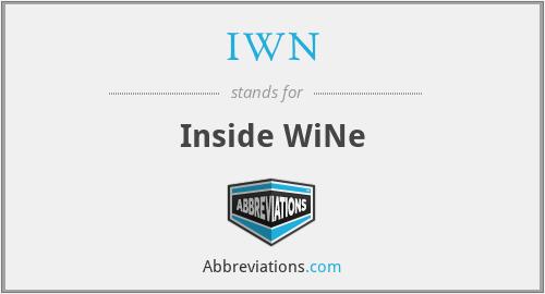IWN - Inside WiNe