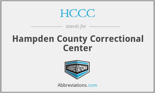 HCCC - Hampden County Correctional Center