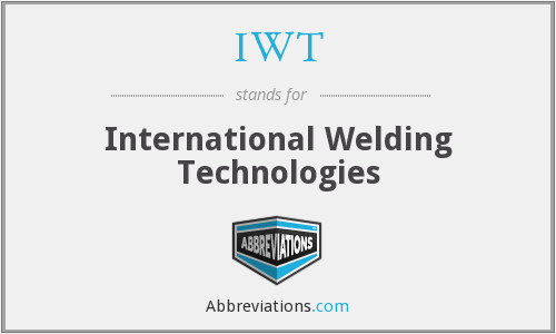 IWT - International Welding Technologies