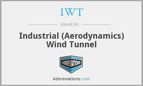 IWT - Industrial (Aerodynamics) Wind Tunnel