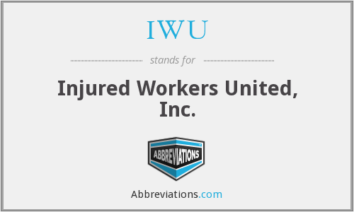 IWU - Injured Workers United, Inc.