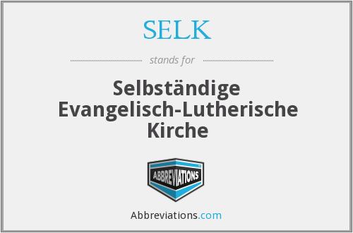 What does SELK stand for?