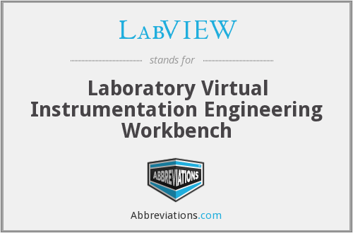 LabVIEW - Laboratory Virtual Instrumentation Engineering Workbench