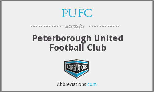 PUFC - Peterborough United Football Club