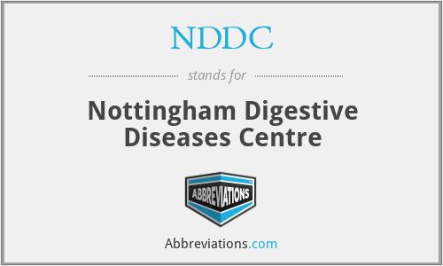NDDC - Nottingham Digestive Diseases Centre
