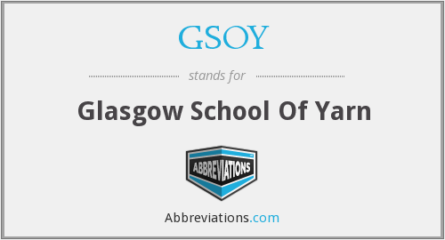 What does GSOY stand for?