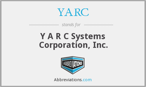 What does YARC stand for?