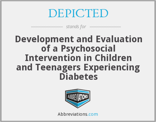 DEPICTED - Development and Evaluation of a Psychosocial Intervention in Children and Teenagers Experiencing Diabetes