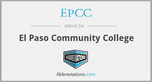 EPCC - El Paso Community College