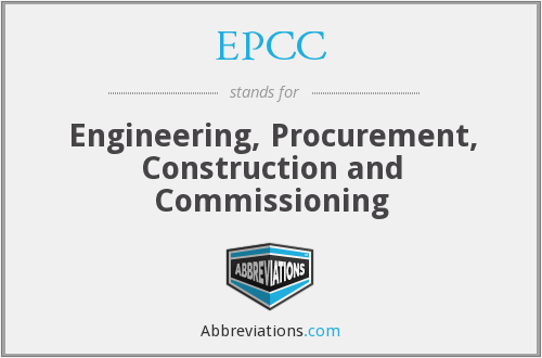 EPCC - Engineering, Procurement, Construction and Commissioning
