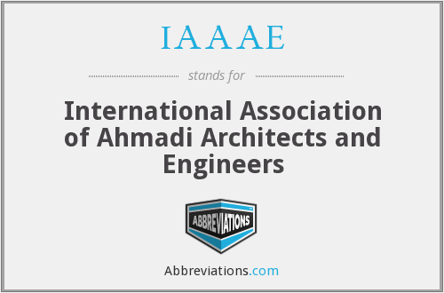 What does IAAAE stand for?
