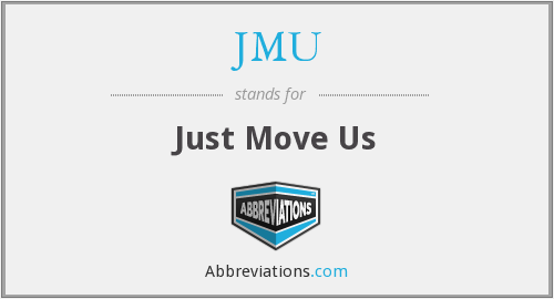 JMU - Just Move Us