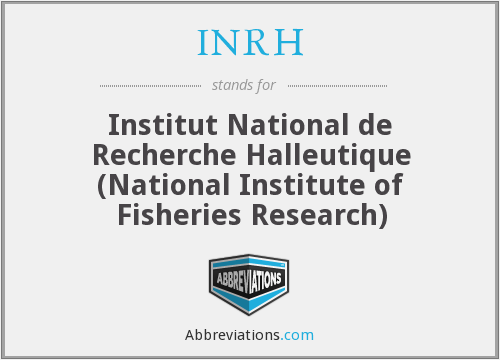 What does INRH stand for?