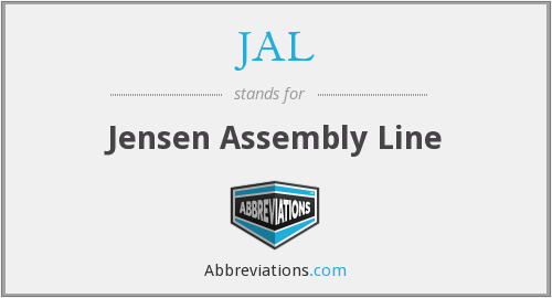 JAL - Jensen Assembly Line