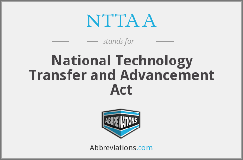 What does NTTAA stand for?