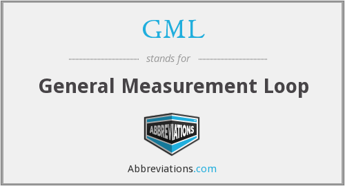GML - General Measurement Loop