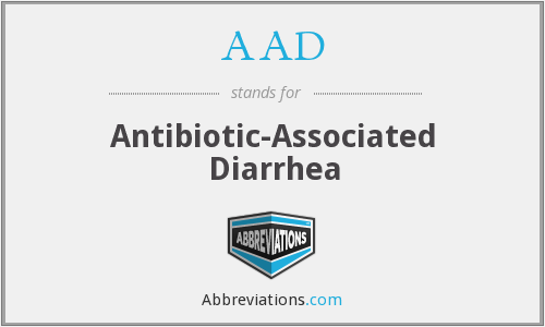 AAD - Antibiotic-Associated Diarrhea