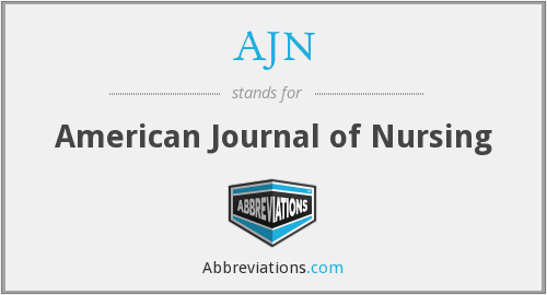 AJN - American Journal of Nursing