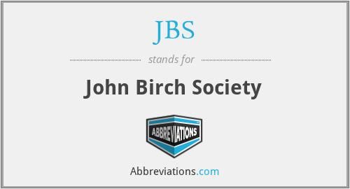 JBS - John Birch Society