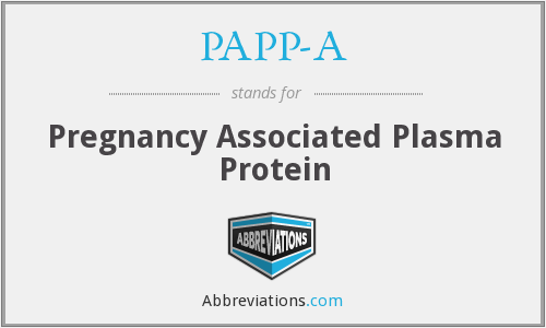 What does PAPP-A stand for?