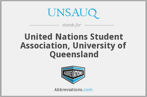 What does UNSAUQ stand for?