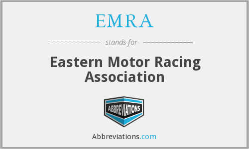 EMRA - Eastern Motor Racing Association