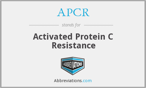 APCR - Activated Protein C Resistance