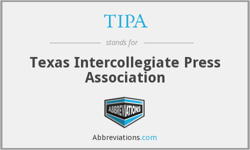 TIPA - Texas Intercollegiate Press Association
