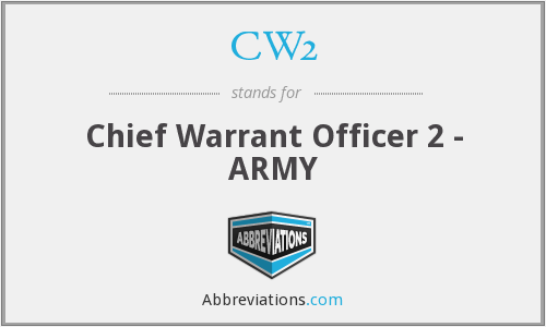 What does CW2 stand for?
