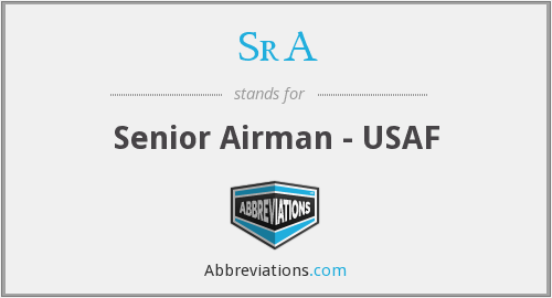SrA - Senior Airman - USAF