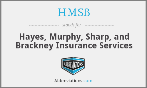 HMSB - Hayes, Murphy, Sharp, and Brackney Insurance Services