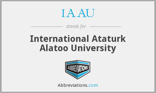 IAAU - International Ataturk Alatoo University