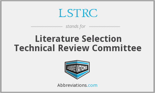 What does LSTRC stand for?
