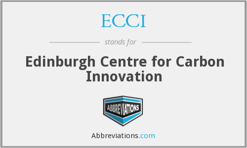 ECCI - Edinburgh Centre for Carbon Innovation
