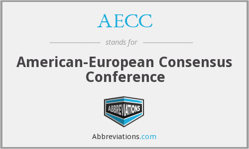 AECC - American-European Consensus Conference