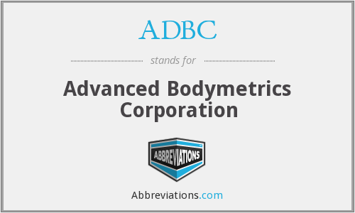 ZABC - Advanced Bodymetrics Corporation