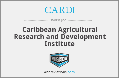 CARDI - Caribbean Agricultural Research and Development Institute