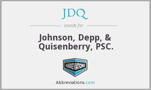 What does JDQ stand for?
